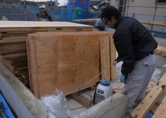木工事突入