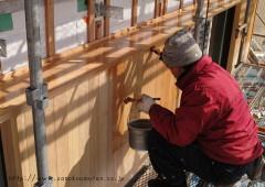 外部塗装-八千代緑が丘の家
