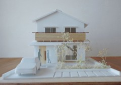 馬込町の家-模型