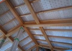 屋根通気層 at 変形地に建つお日様をむかえる家