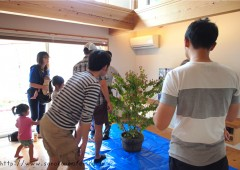 ◆「樹木の剪定&季節の小花の寄せ植えワークショップ」を開催しました。