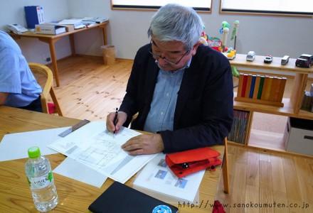 建築家・秋山東一先生にお越しいただきました。