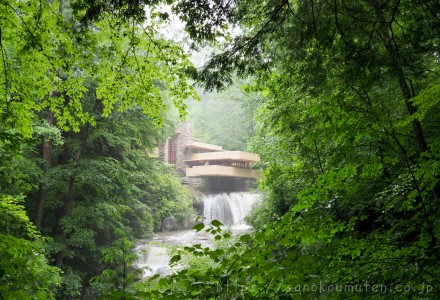 アメリカ建築ツアー2018 ⑨落水荘