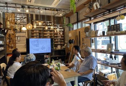 秋山設計道場19-9月@西川リビング(湘南台・神奈川県)