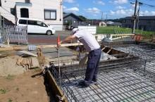 第三者検査&耐圧盤コンクリート打設 @ちはら台の家