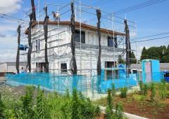 建て方@草深の家