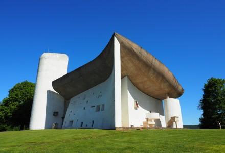 スイス・フランス建築旅行記2019 ④ロンシャンの礼拝堂